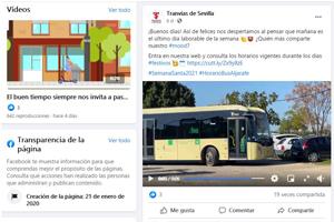 Facebook Tranvías